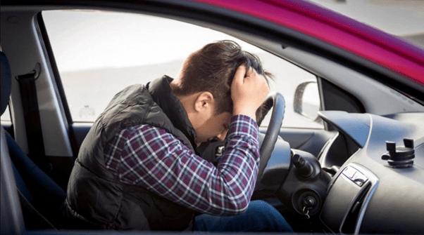 Оштрафований водій